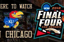 NCAA Final Four 2018: Kansas Jayhawk bars