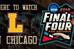 NCAA Final Four 2018: Loyola Rambler bars