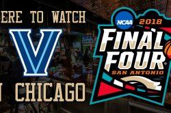NCAA Final Four 2018: Villanova Wildcat bars